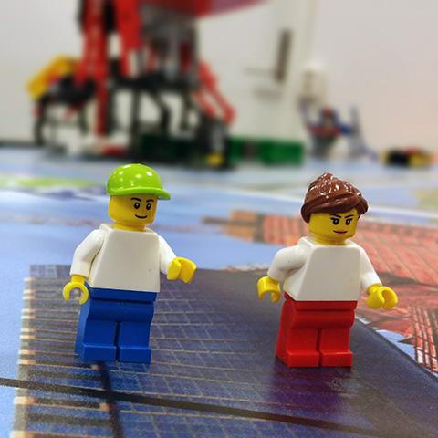 FIRST LEGO League figurer